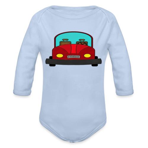 Autot - Vauvan pitkähihainen luomu-body