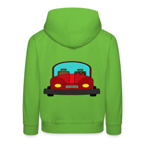 Autot - Lasten premium huppari