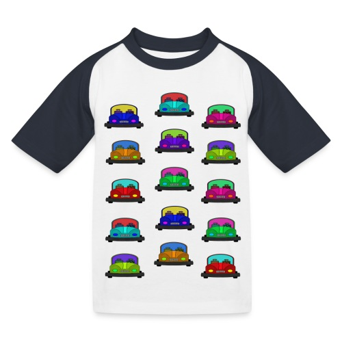 Autot - Lasten pesäpallo  -t-paita