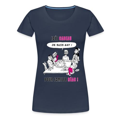 Noël gay par Nawak - T-shirt Premium Femme