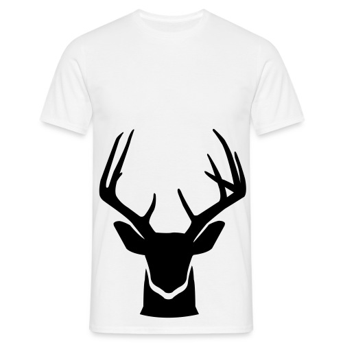 Deer Bottom T-shirt Men White - Mannen T-shirt