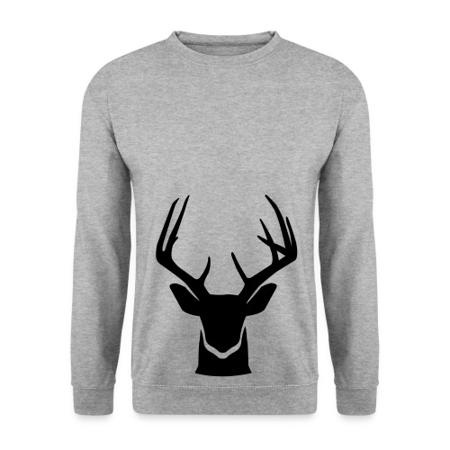 Deer Bottom Sweater Men White - Mannen sweater