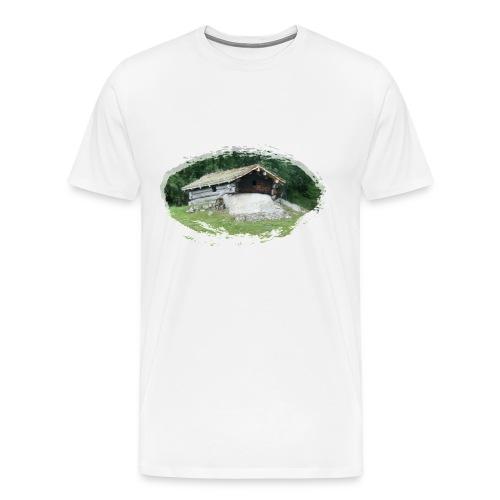 Premium T- skjorte Mann - Premium T-skjorte for menn