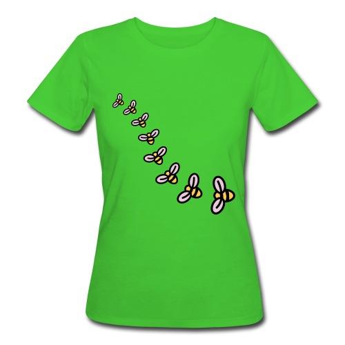 Apron Bees - Women's Organic T-Shirt