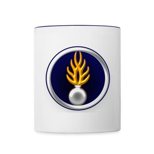 tasse gendarme - Contrasting Mug