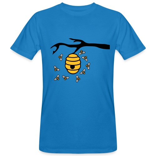 Adult T shirt Bees - Men's Organic T-Shirt