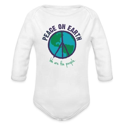 People's Earth - Baby Body - Baby Bio-Langarm-Body