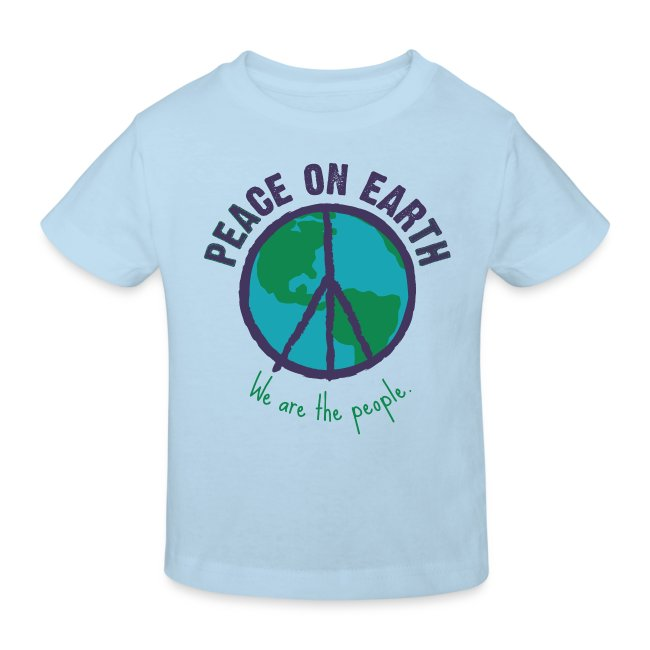 People's Earth -Kids Bio-Shirt