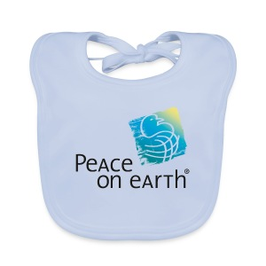 Peace on Earth - Bib - Baby Bio-Lätzchen