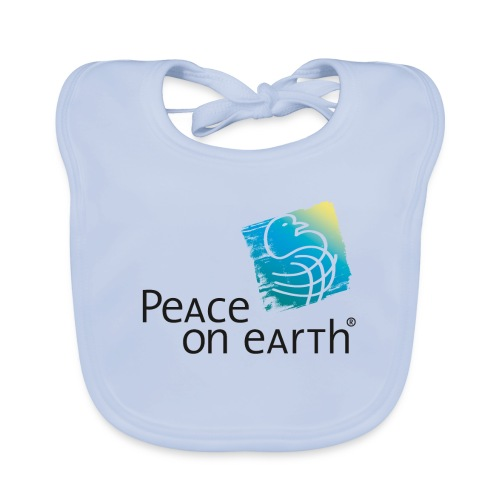 Peace on Earth - Bib - Baby Bio-Lätzchen