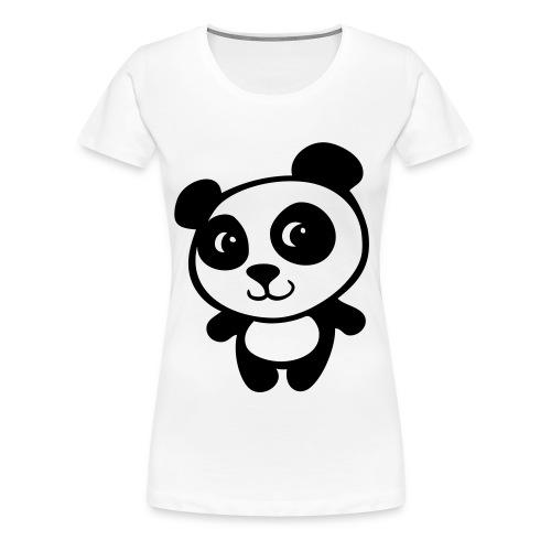 Women Panda Shirt - Women's Premium T-Shirt