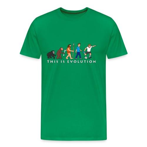 THIS IS EVOLUTION - Men's Premium T-Shirt