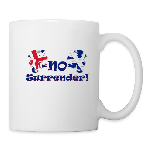 No Surrender  Mug - Mug