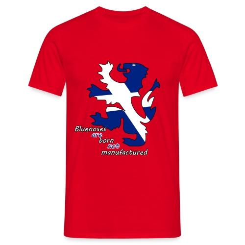 Bluenoses are born m,ens t shirt  - Men's T-Shirt