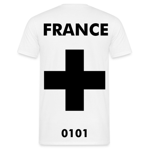 FRANCE (WHITE Version) - Men's T-Shirt