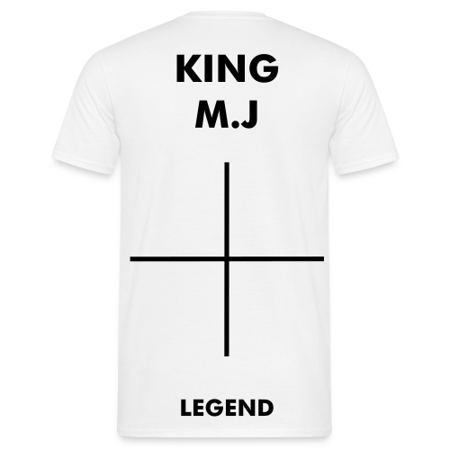 KING M.J (LEGEND) - Men's T-Shirt