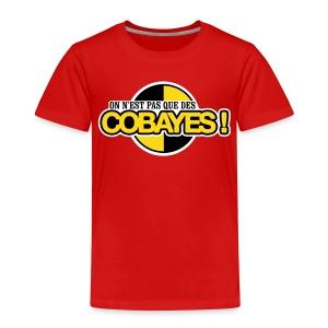 T-Shirt Qualité Ado Logo Cobayes - T-shirt Premium Enfant
