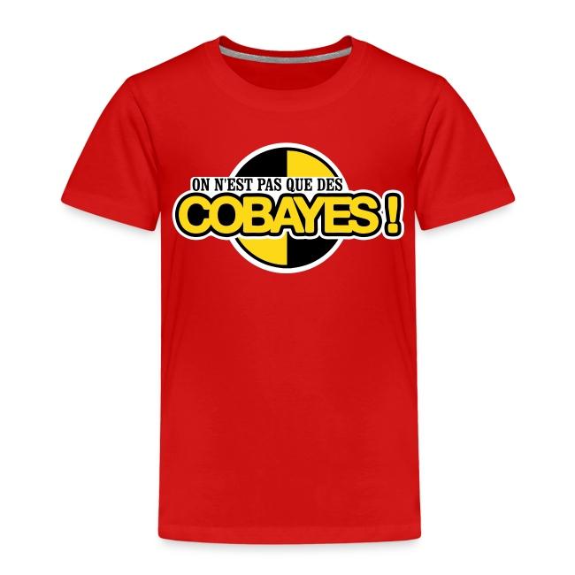 T-Shirt Qualité Ado Logo Cobayes