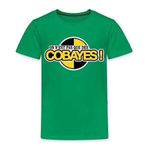 T-Shirt Qualité Enfant Logo Cobayes - T-shirt Premium Enfant