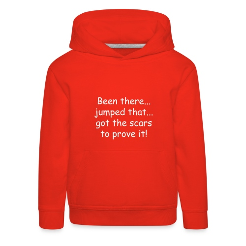 Kids' Premium Hoodie - If you can read this, please put me back on my horse! Hoodie