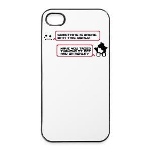 Womething wrong turning it off smartphone - iPhone 4/4s Hard Case