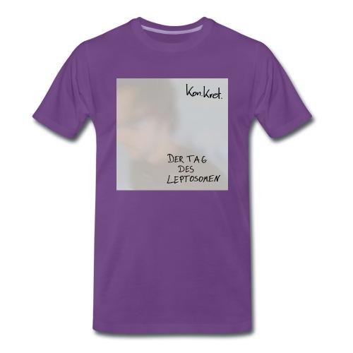 Shirt Leptosom-Cover - Männer Premium T-Shirt