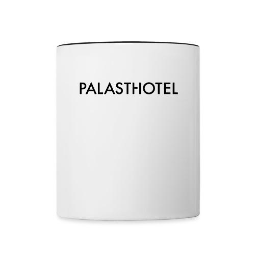 Palasthotel Kaffeebecher - Tasse zweifarbig