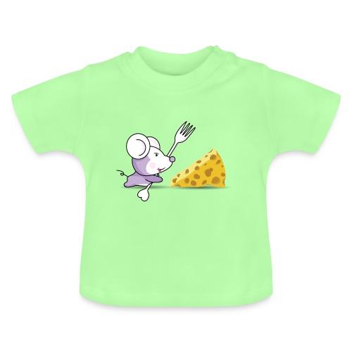 Camiseta Ratón y queso - Camiseta bebé