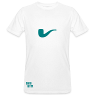 T-Shirts ~ Männer Bio-T-Shirt ~ Slanted – Art Type / White Bio / Man