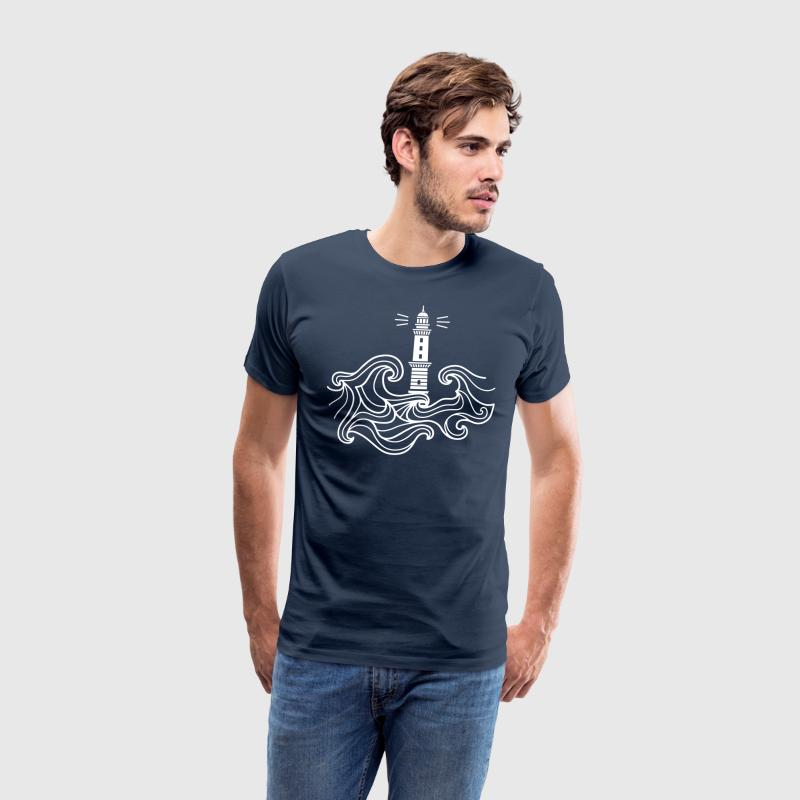Navy  T-Shirts - Men's Premium T-Shirt