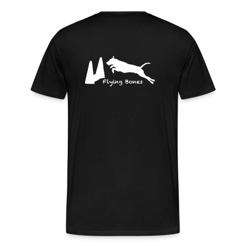 Flying Bones Becks Männer - Männer Premium T-Shirt