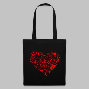 Sac (totebag) Science Heart - Tote Bag