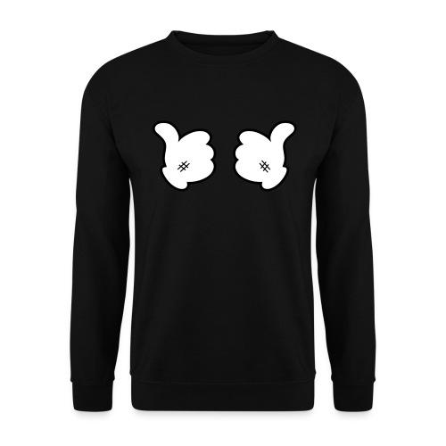 Space-Diamond Hands  - Mannen sweater