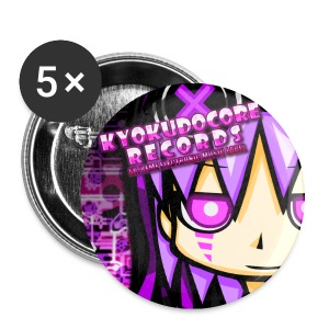 KyokudoCore Records Buttons - Buttons small 25 mm