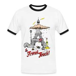 La French Touch Tee shirts - T-shirt contraste Homme