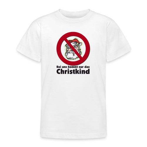Scheiß auf den Weihnachtsmann - Teenager T-Shirt