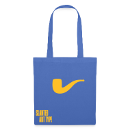 Taschen & Rucksäcke ~ Stoffbeutel ~ Slanted – Art Type / Blue Yellow / Totebag