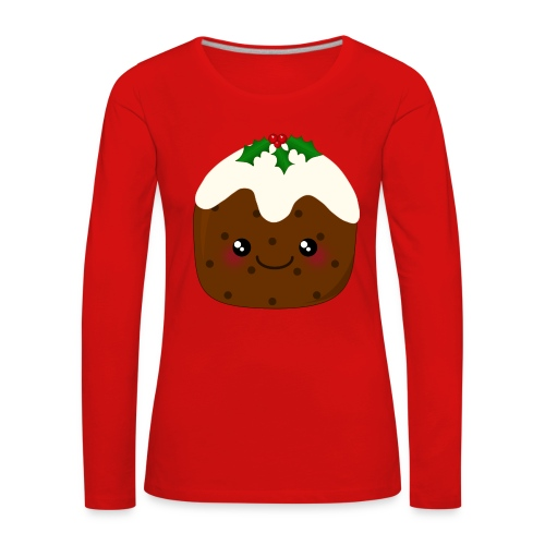 Christmas Pudding - Women's Premium Longsleeve Shirt