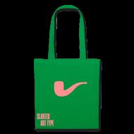 Taschen & Rucksäcke ~ Stoffbeutel ~ Slanted – Art Type / Green Rose / Totebag