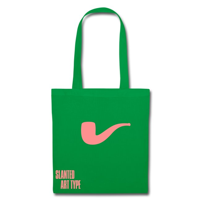 Slanted – Art Type / Green Rose / Totebag
