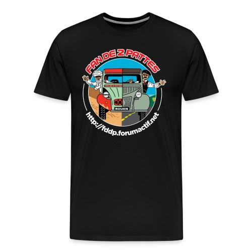 Logo Devant+Dos - T-shirt Premium Homme