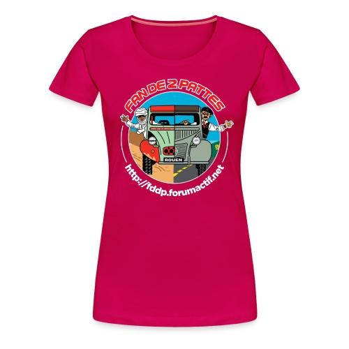 Logo Devant+Dos - T-shirt Premium Femme