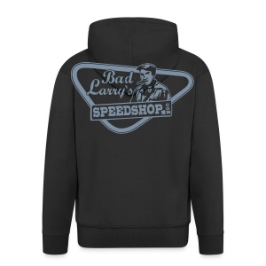 Bad Larry`s Sweat-Shirt black/silver - Männer Premium Kapuzenjacke