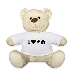 I love electro house Peluche - Teddy Bear