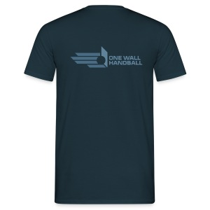 One Wall Handball  - Urban Basic Logo in één kleur - Mannen T-shirt