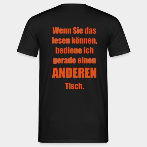 ANDERER Tisch. - Männer T-Shirt