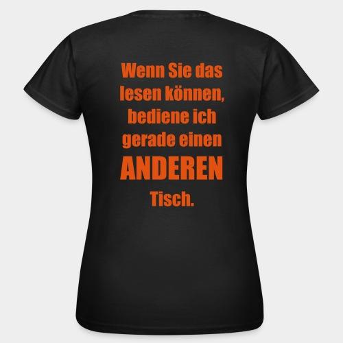 ANDERER Tisch. - Frauen T-Shirt