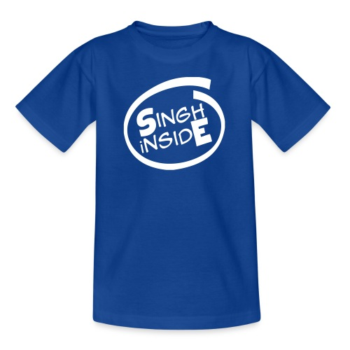 Blue Kid's Singh iNside  - Kids' T-Shirt