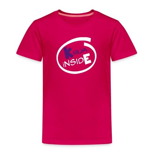 Pink Kid's Kaur iNside  - Kids' Premium T-Shirt