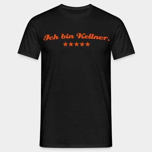 Fanshirt: Ich bin Kellner. - Männer T-Shirt